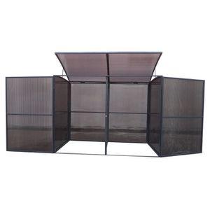 cache poubelle achat vente cache poubelle pas cher. Black Bedroom Furniture Sets. Home Design Ideas