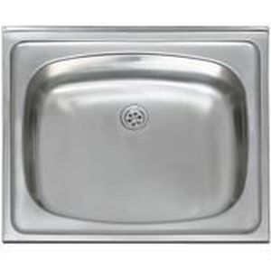 Evier Inox A Poser Encastrable 60x50 Achat Vente Robinetterie