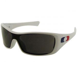 lunettes de soleil blanc « antix » enveloppant avec les icônes du pavillon  français d0e7dc1b025d