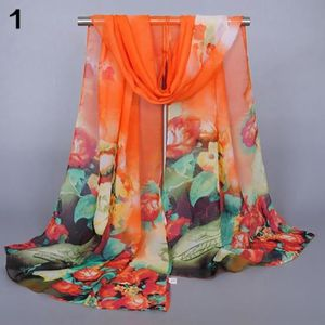 ECHARPE - FOULARD Vase à la mode pour les femmes Motif à fleurs Doux 75ca0808009