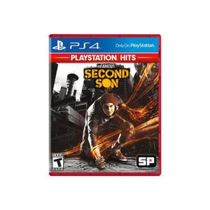 JEU PS4 InFAMOUS Second Son PlayStation Hits PlayStation 4