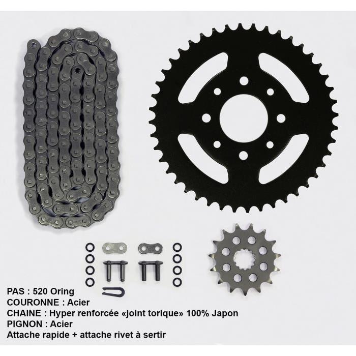Kit chaîne pour Ducati Monster 696 de 08-09