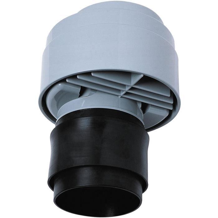 WIRQUIN Anti-vide droit excentré VP100 - Pour tube Ø 80 à 110 mm - à coller