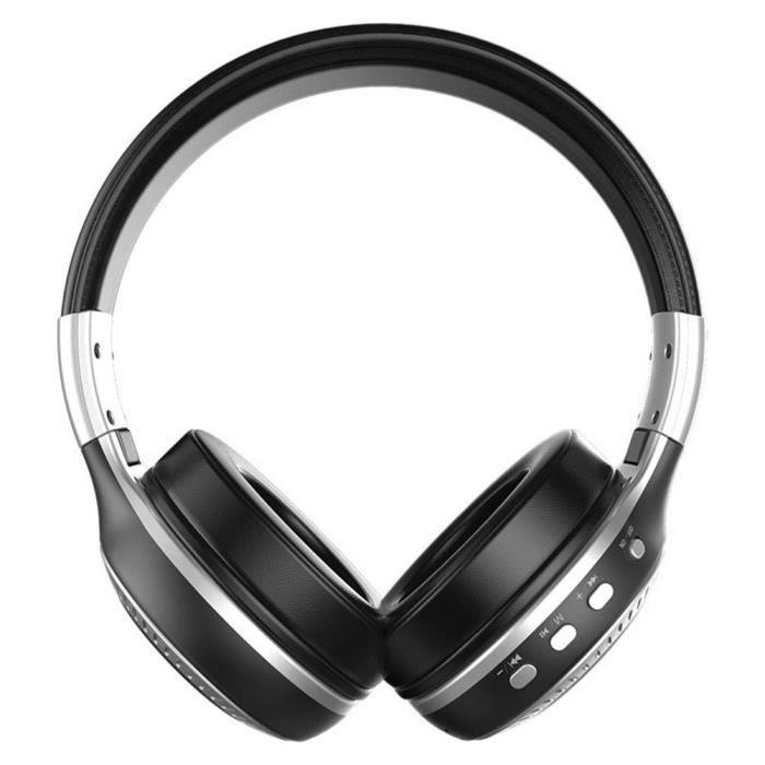Zealot B19 Ecouteurs Bluetooth Radio Fm Avec Micro (noir Argent)