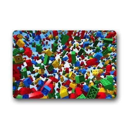 Taille Standard Rideau 801538-1 rideau de douche sur mesure lego conception non-tissé tissu