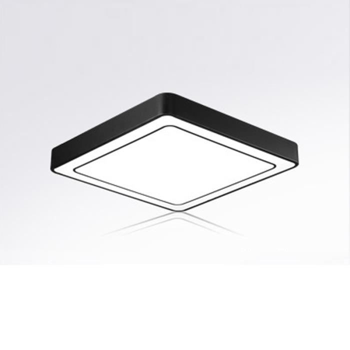 50cm noir plafonnier led carre lampe de plafond de Résultat Supérieur 15 Superbe Plafonnier Led Noir Image 2017 Shdy7