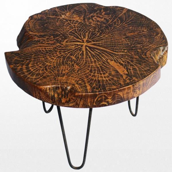 Table Basse Bois Fer Achat Vente Pas Cher