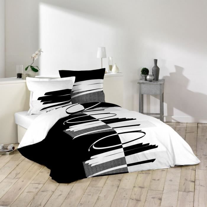 parure de lit achat vente parure de lit pas cher. Black Bedroom Furniture Sets. Home Design Ideas