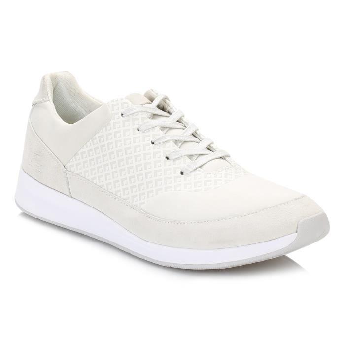be3839a2d34 Lacoste femme White Joggeur Lace 416 1 Baskets-UK 6 Blanc Blanc ...