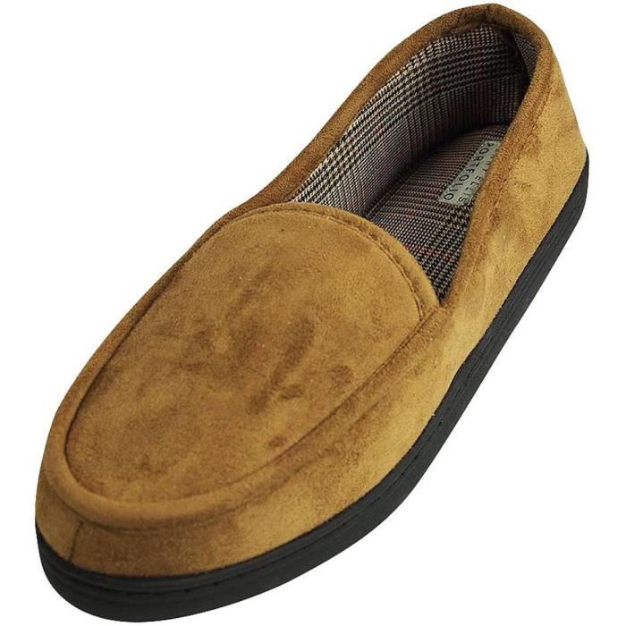 Perry Ellis Twin-stretch Slippers WJEY5 Taille-XL