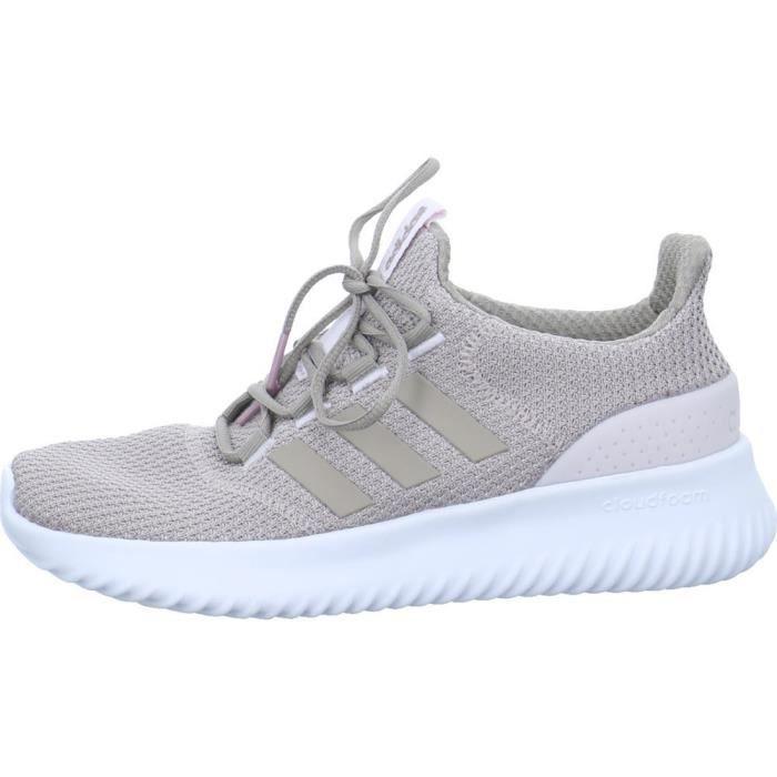 68af94d79ceb1 Chaussures Adidas Cloudfoam Ultimate Gris Gris - Achat   Vente ...