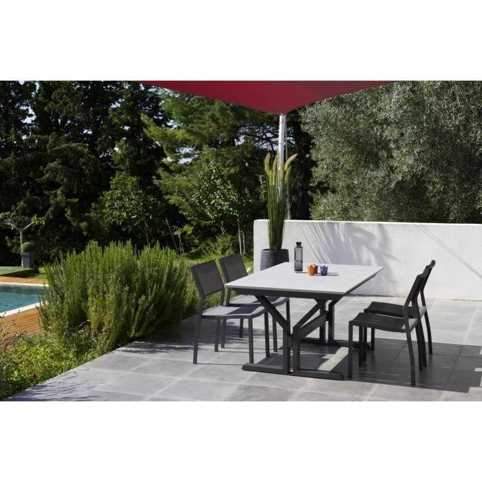 Table jardin pied central - Achat / Vente pas cher