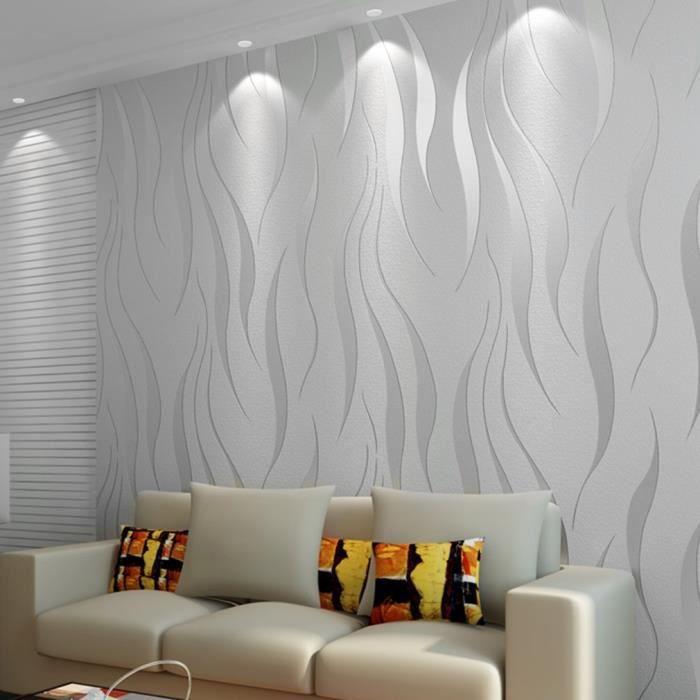 53cm 10m papier peint magnifique style simple moderne Decor papier peint mural