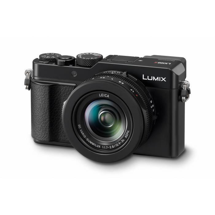 APPAREIL PHOTO COMPACT Panasonic Lumix DC-LX100 II noir appareil photo nu