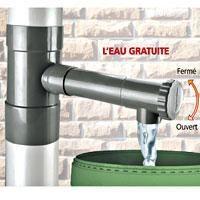 R cup rateur d 39 eau de pluie 100 mm achat vente collecteur eau cuve r cup rateur d 39 eau de - Leroy merlin tuyau d arrosage ...