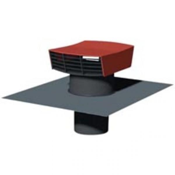 CHAPEAU METALLIQUE DE TOITURE D150 MM TUILE UNE… - Achat / Vente vmc - accessoires vmc CHAPEAU ...