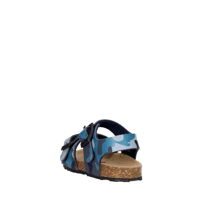 Grunland Sandale Garçon Bleu, 35