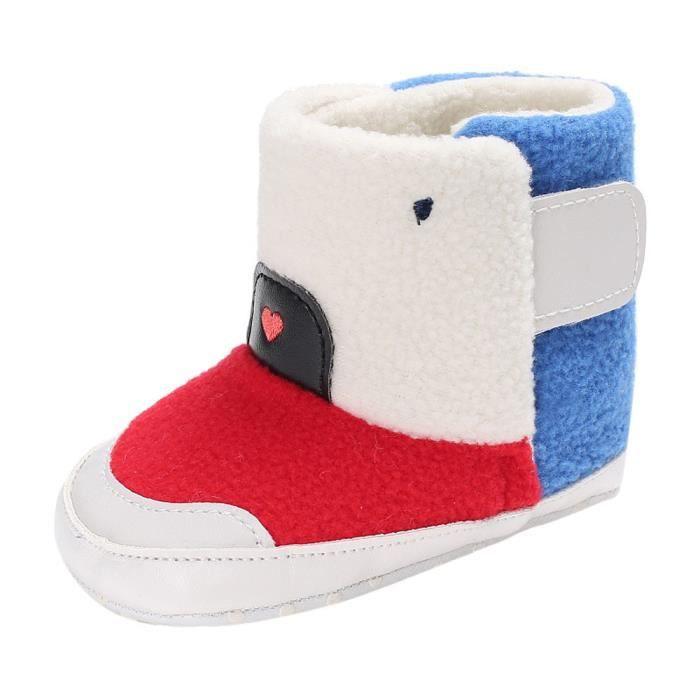 BOTTE Bébé fille garçons doux semelle bottes bottes de neige infantile bambin nouveau-né réchauffement chaussures@RougeHM y1nJ0E