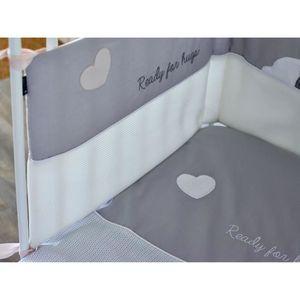 tour de lit 60x120 achat vente pas cher. Black Bedroom Furniture Sets. Home Design Ideas