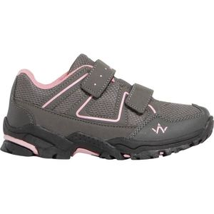 WANABEE Chaussures Marche/Rando Junior Hike 100 Basses Gris/Rose