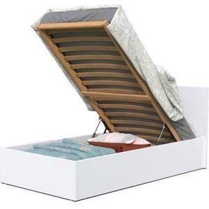 lit avec rangement 90x190 achat vente lit avec. Black Bedroom Furniture Sets. Home Design Ideas