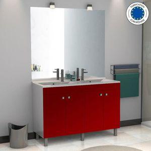 meuble salle de bain ecoline 120 double vasque r Résultat Supérieur 17 Frais Meuble Salle De Bain Double Vasque 120 Cm Pas Cher Galerie 2018 Ojr7