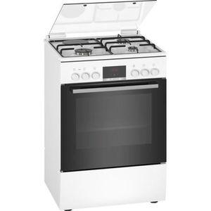 CUISINIÈRE - PIANO BOSCH HXR39IG20 - Cuisinière mixte - 3 foyers gaz