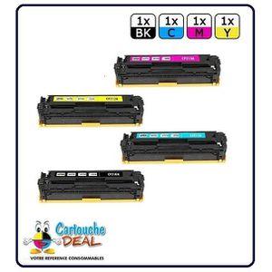 TONER Lot de 4 Toners compatible HP 131A 131X M251 M276