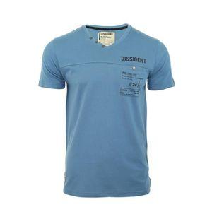 T-SHIRT T-shirt Hommes DISSIDENT 'Kramer' Col V Manches...