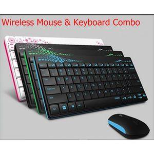 PACK CLAVIER - SOURIS Rapoo 8000 Mini clavier sans fil 2.4G souris Combo