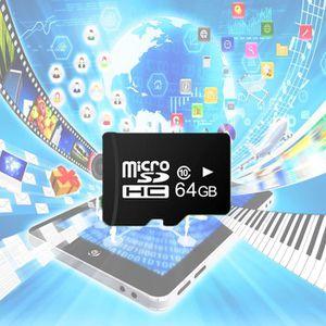 CARTE MÉMOIRE Sopear®  Carte Micro SD 64 Go GB 64Go 64GB Haute V