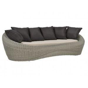 Canapé 3 places de jardin WHITEHEAVEN en résine... - Achat / Vente ...