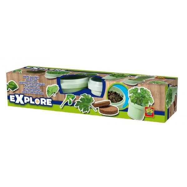 SES CREATIVE Kit de création - Jardin de plantes aromatiques