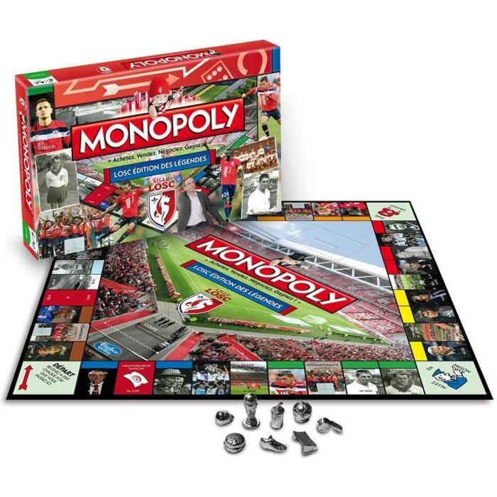 WINNING MOVES Monopoly Football Lille L.O.S.C