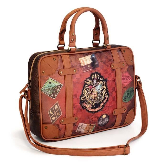 8b2dded68a61 Sacoche pour ordinateur portable Harry Potter Marron - Achat   Vente ...