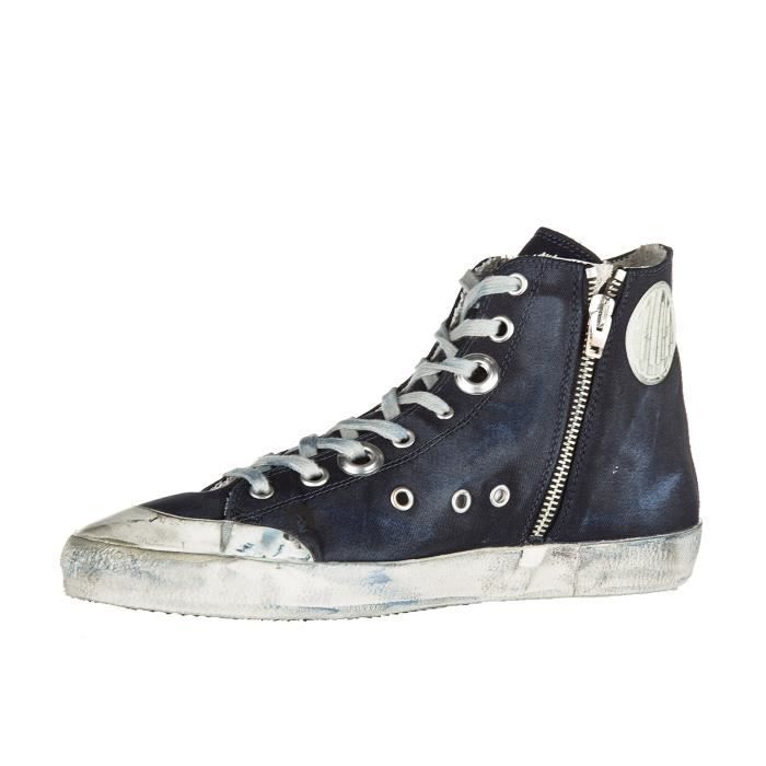 Chaussures baskets sneakers hautes homme francy Golden Goose
