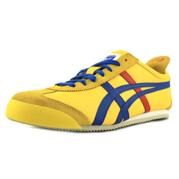 Onitsuka Tiger by Asics Mexico 66 Synthétique Baskets Jaune