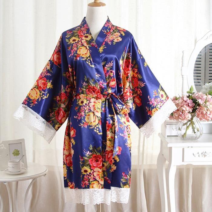 Imprimer Lingerie Kimono Nuit Dentelle Chambre Chemise Bain De Robe Sexy Femmes dSqx84d