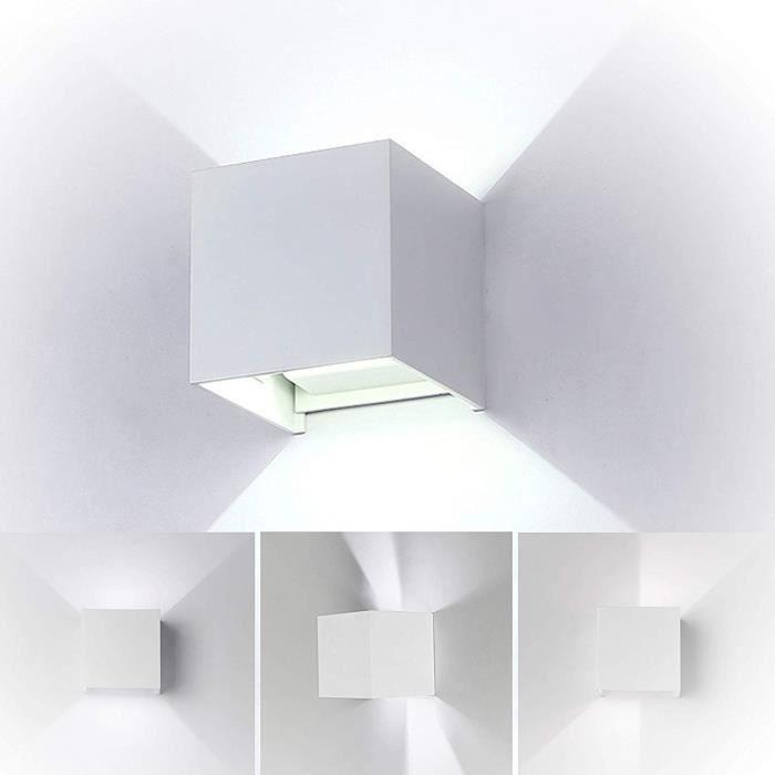 12w Led Applique Murale Exterieur Interieur Réglable Lampe Moderne