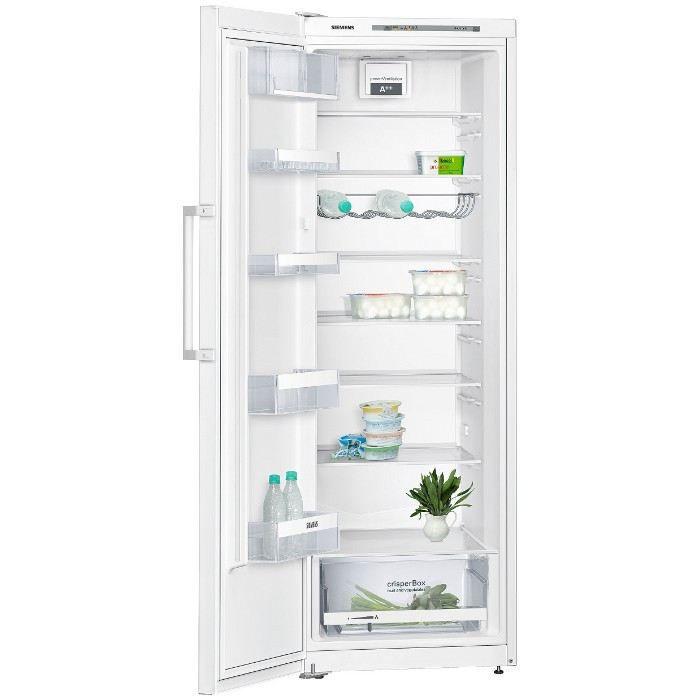 SIEMENS KSVVW Réfrigérateur Porte L Froid Brassé A - Réfrigérateur 1 porte