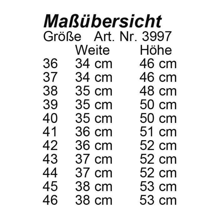 Bottes Valencia haute et étroite 39 LG ET (L 35cm H 50cm) Marron