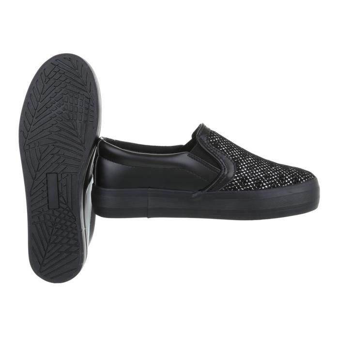 noir Mocassin Chaussures Noir De 41 Sport Femme Rose blanc nw8qP8Zpxt