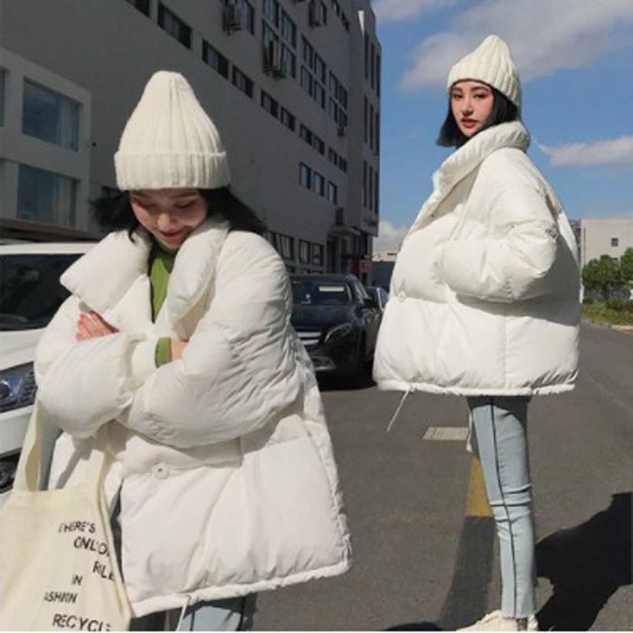 Veste Coton Outwear Chaud Parka Capuchon Facile Femmes À Slim Long Manteau Thicker Cxz4816 8qzxOw