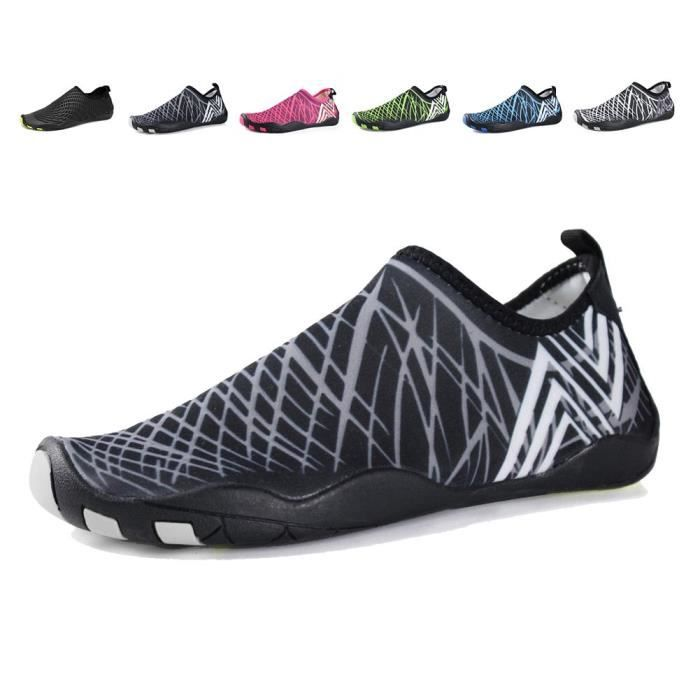 Water Shoes Aqua Sports Sneakers Slip On Quick Dry For Kids Fishing FRBM2 Taille-39
