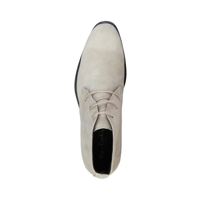 Pierre Cardin - Chaussures de ville pour homme (EUSEBE_TAUPE) - Brun