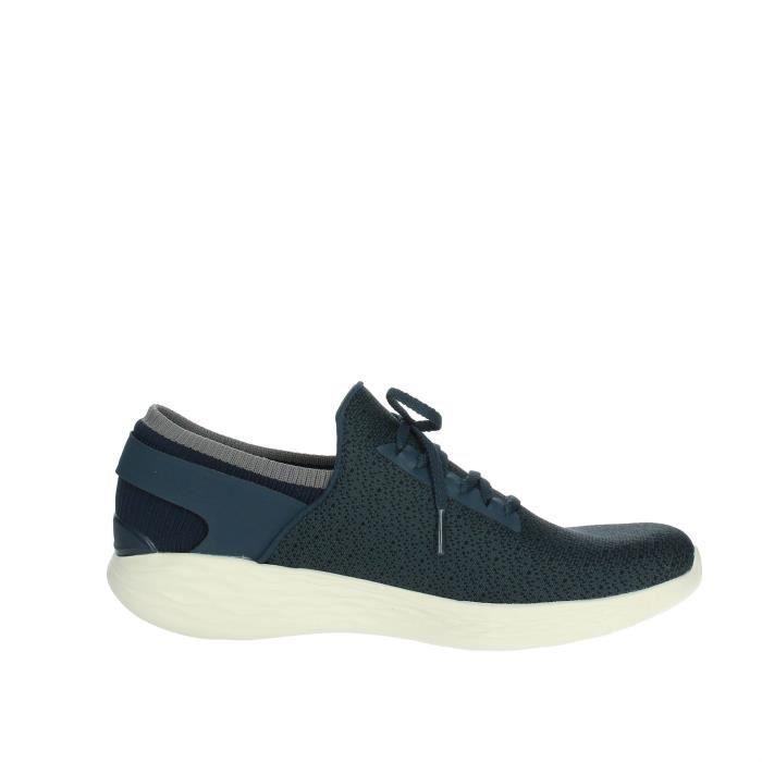 Skechers Slip-on Chaussures Femme Bleu, 36