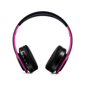CASQUE - ÉCOUTEURS ouniondo® Pliable sans fil Bluetooth casque stéréo 030076720a66