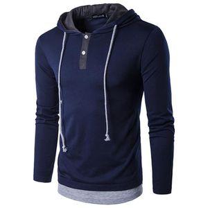 bd0e10961b8a0 T-shirt Col capuche homme - Achat   Vente T-shirt Col capuche Homme ...
