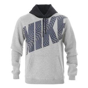 SWEAT-SHIRT DE SPORT Nike - Nike Felpa Homme Sweat Shirt Gris ...