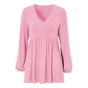 5e7d1c71fb055 T-shirt manches longues femme - Achat / Vente T-shirt manches ...